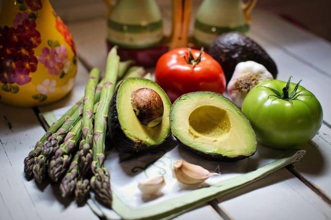 Vegane Ernährung - Gesundes Obst und Gemüse