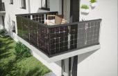 Solar Balkongeländer mit Photovoltaik