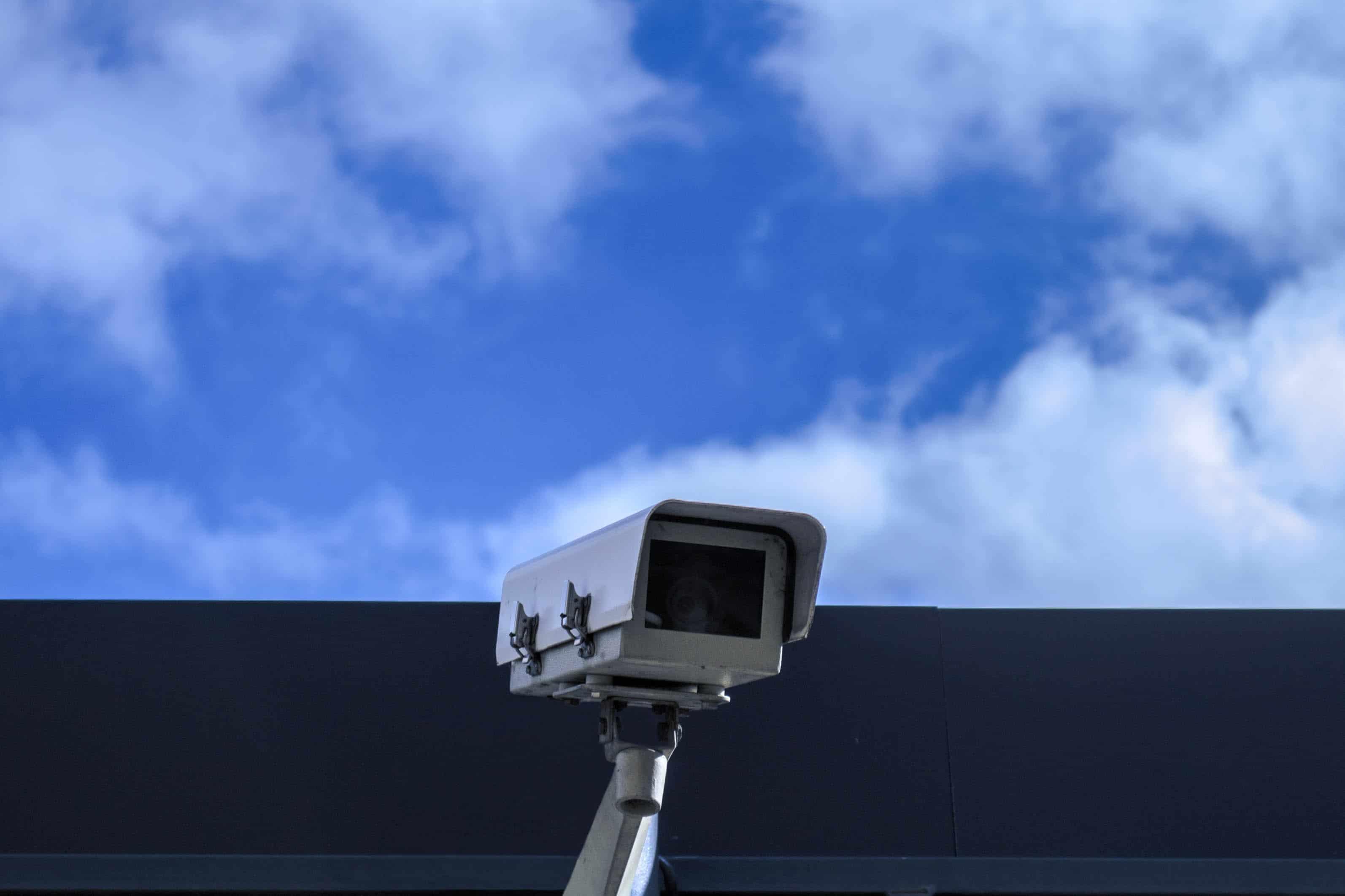Überwachungskamera eines Hausalarm-Systems