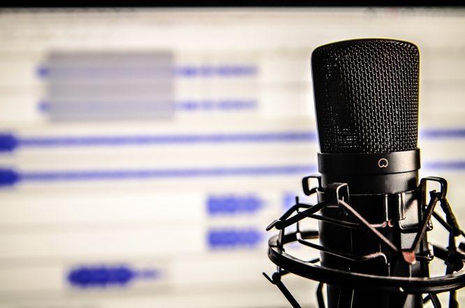 Podcast aufnehmen