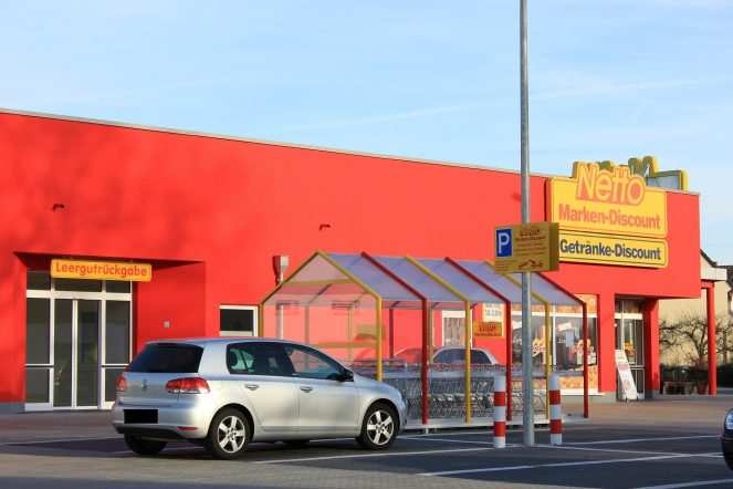 Discounter im Check
