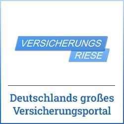 Kostenloser und unabhängiger Versicherungsvergleich auf Versicherungsriese.de