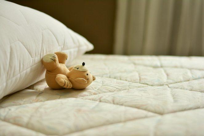 Hausstaubmilben im Bett