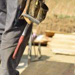 Handwerker bei der Arbeit
