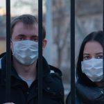 Masken schützen vor Corona Virus
