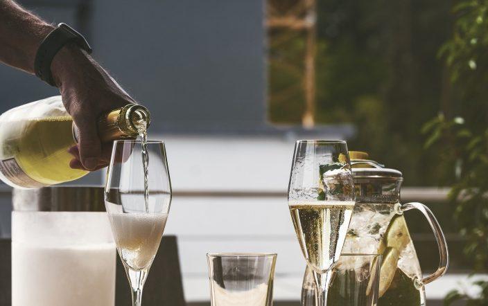 Champagner Herstellung