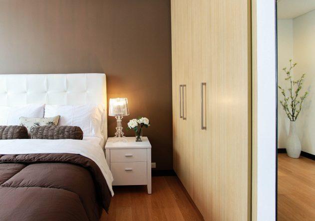 Schlafzimmer Bett einrichten