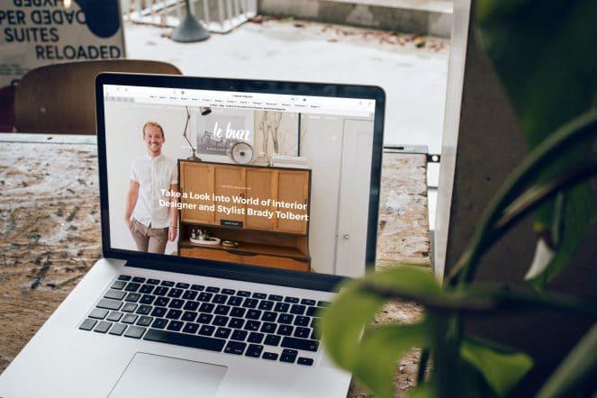Website und Landing Page