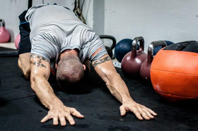 Muskelkater nach Training